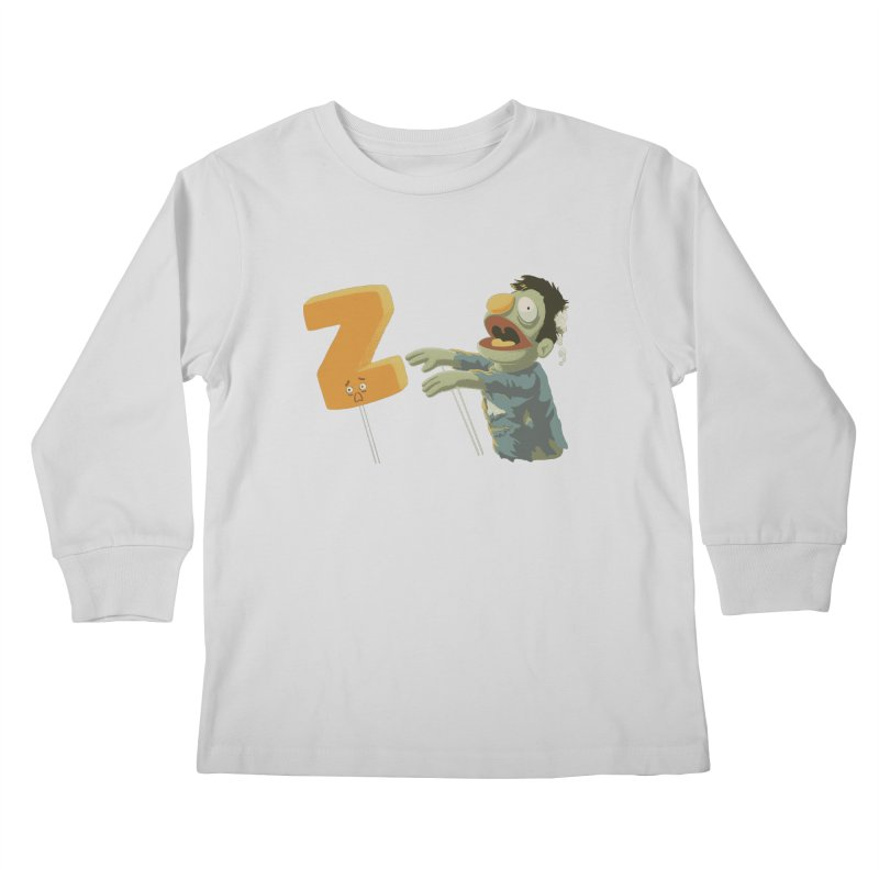 Z is for Zombie Kids Longsleeve T-Shirt by Gyledesigns' Artist Shop