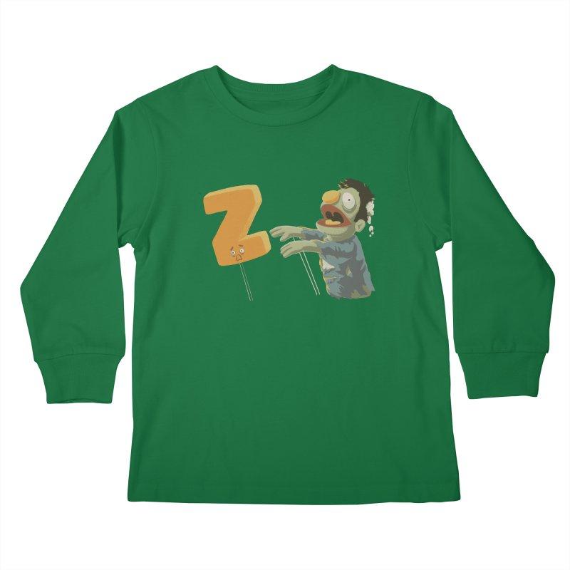 Z is for Zombie Kids Longsleeve T-Shirt by Gyledesigns' Artist Shop