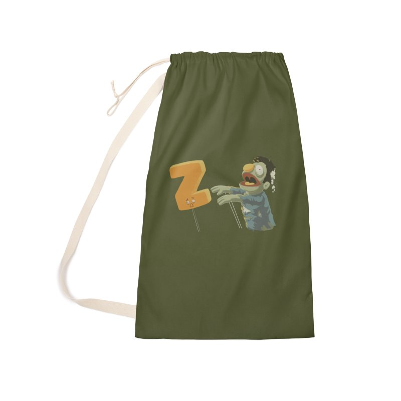 Z is for Zombie Accessories Laundry Bag Bag by Gyledesigns' Artist Shop