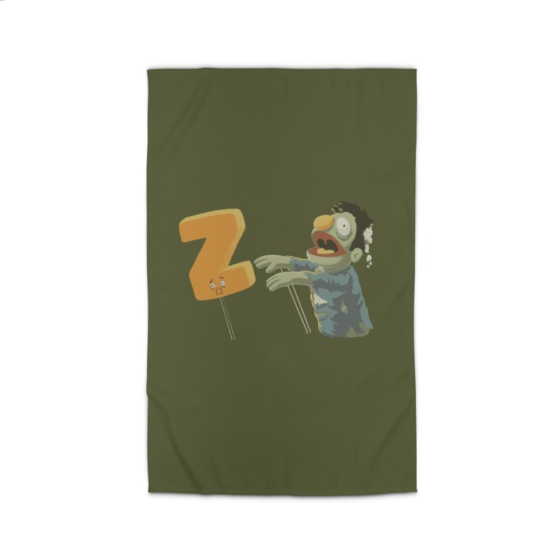 Z is for Zombie Home Rug by Gyledesigns' Artist Shop
