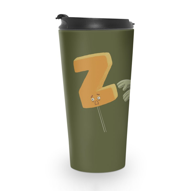 Z is for Zombie Accessories Travel Mug by Gyledesigns' Artist Shop