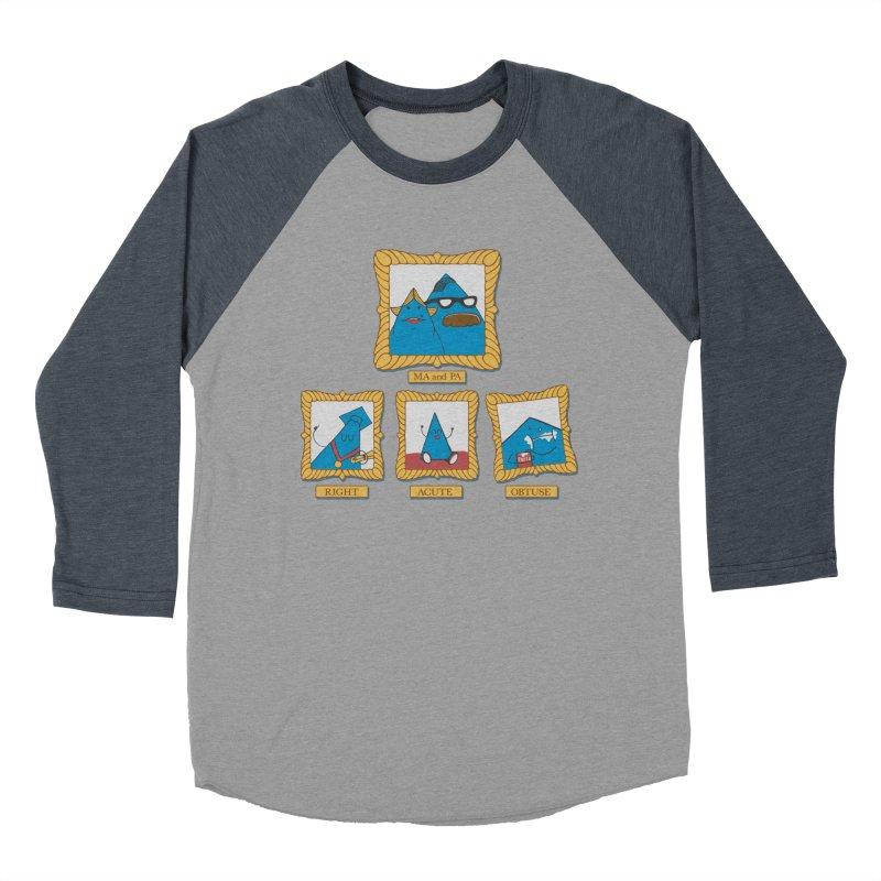 Family Geometry Men's Baseball Triblend T-Shirt by Gyledesigns' Artist Shop