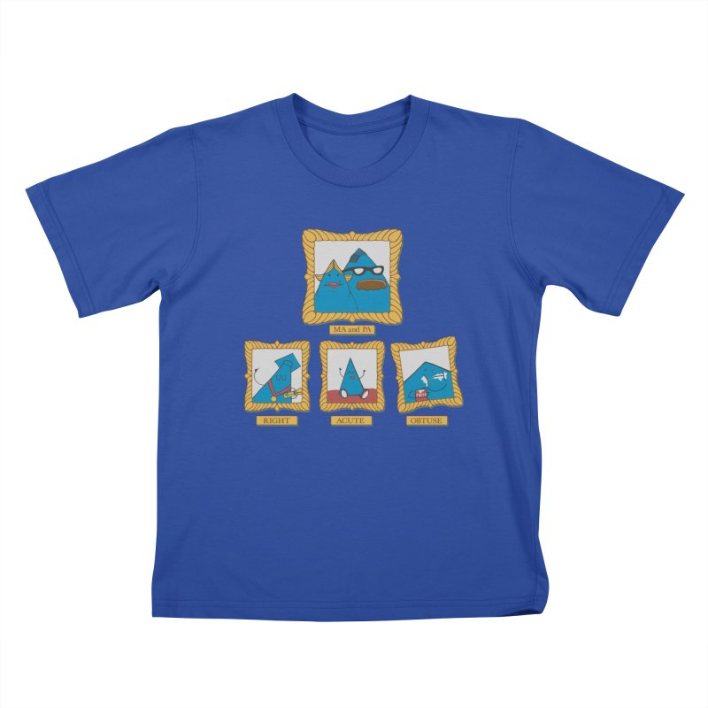 Family Geometry Kids T-shirt by Gyledesigns' Artist Shop