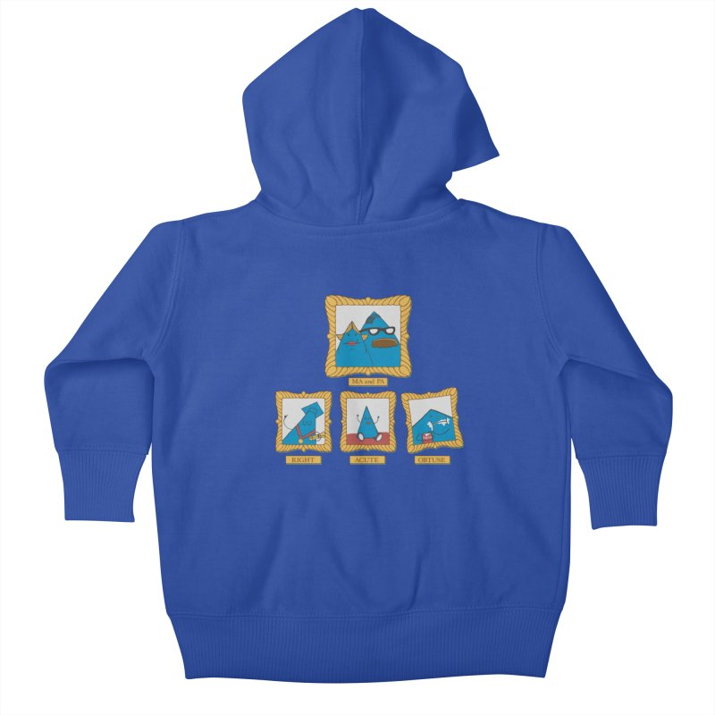 Family Geometry Kids Baby Zip-Up Hoody by Gyledesigns' Artist Shop