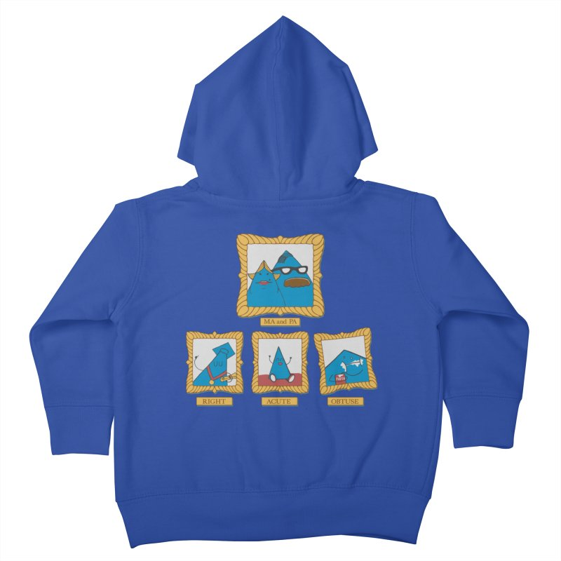 Family Geometry Kids Toddler Zip-Up Hoody by Gyledesigns' Artist Shop
