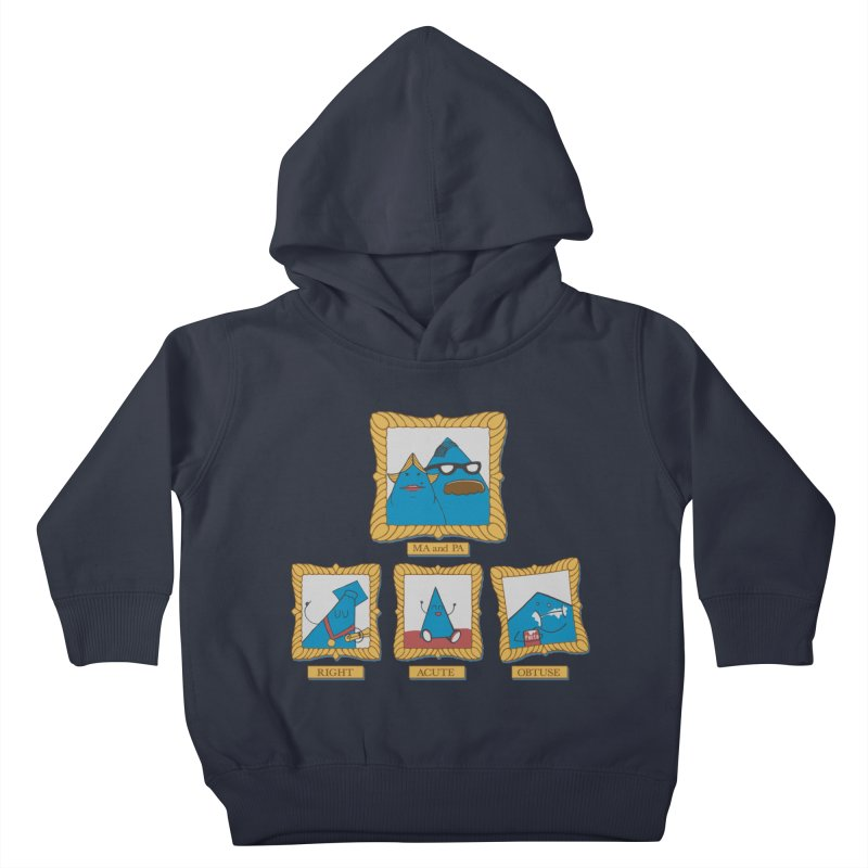 Family Geometry Kids Toddler Pullover Hoody by Gyledesigns' Artist Shop