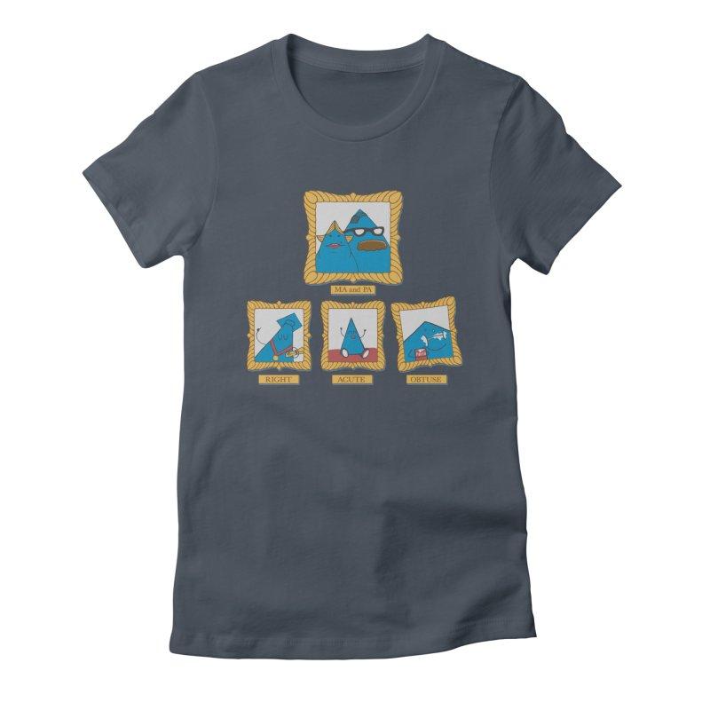 Family Geometry Women's T-Shirt by Gyledesigns' Artist Shop