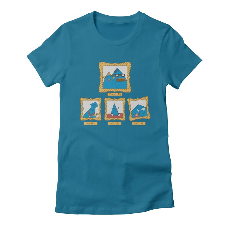 Family Geometry Women's Fitted T-Shirt by Gyledesigns' Artist Shop