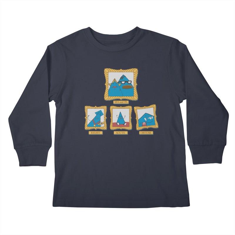 Family Geometry Kids Longsleeve T-Shirt by Gyledesigns' Artist Shop