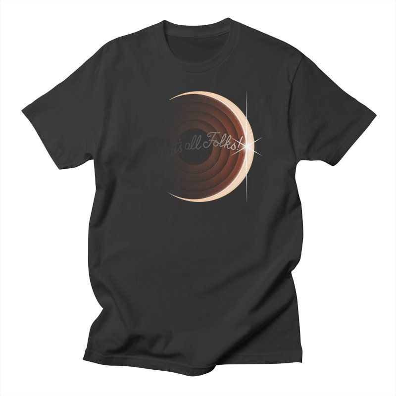 Looney Eclipse Men's T-Shirt by Gyledesigns' Artist Shop