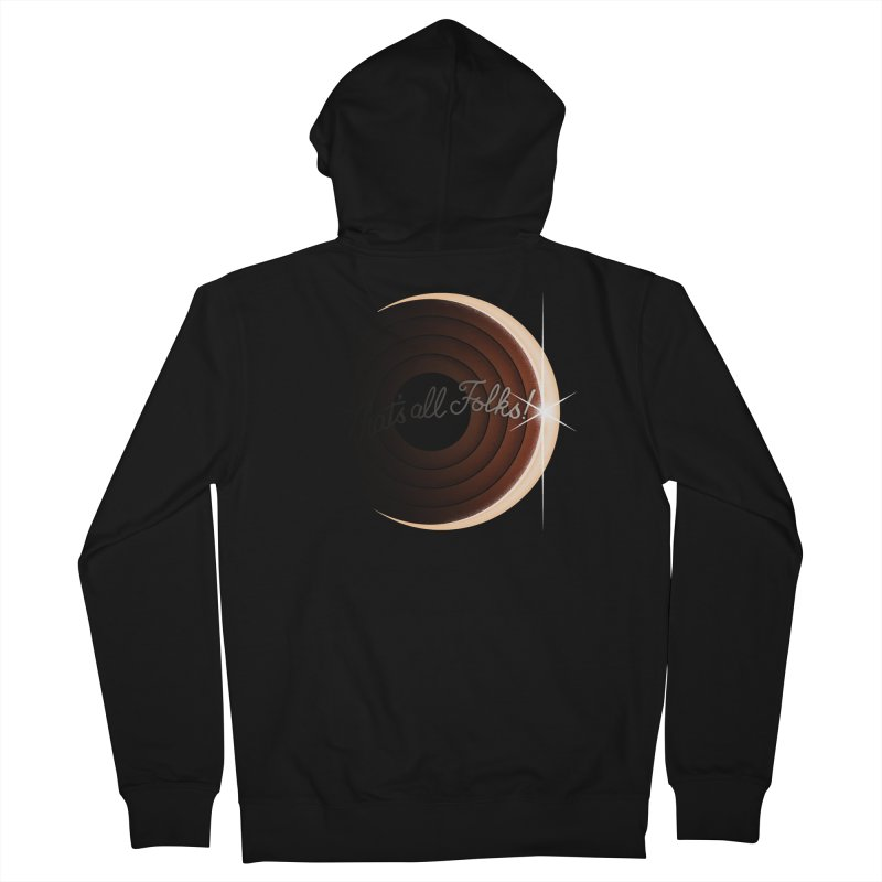 Looney Eclipse Women's Zip-Up Hoody by Gyledesigns' Artist Shop