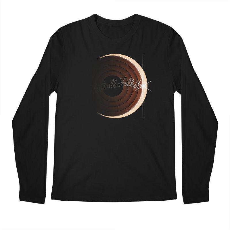 Looney Eclipse Men's Regular Longsleeve T-Shirt by Gyledesigns' Artist Shop