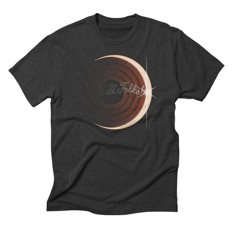 Looney Eclipse Men's Triblend T-shirt by Gyledesigns' Artist Shop
