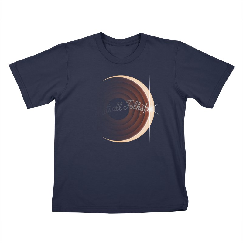Looney Eclipse Kids T-Shirt by Gyledesigns' Artist Shop