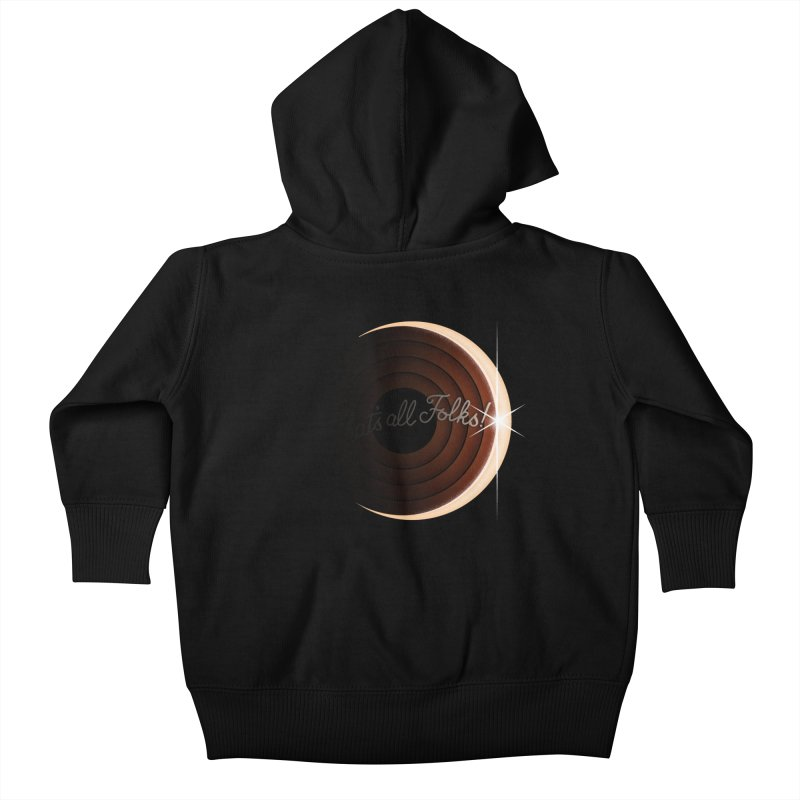 Looney Eclipse Kids Baby Zip-Up Hoody by Gyledesigns' Artist Shop