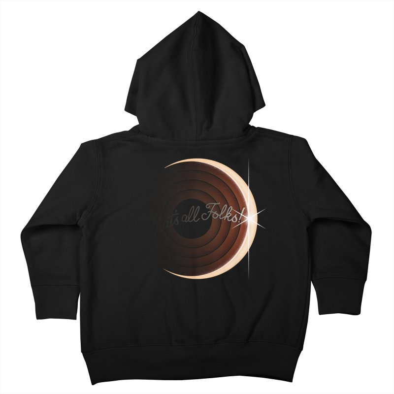Looney Eclipse Kids Toddler Zip-Up Hoody by Gyledesigns' Artist Shop