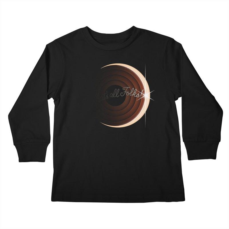 Looney Eclipse Kids Longsleeve T-Shirt by Gyledesigns' Artist Shop