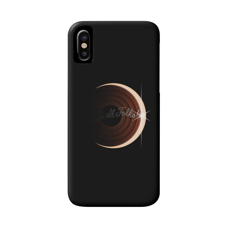 Looney Eclipse Accessories Phone Case by Gyledesigns' Artist Shop