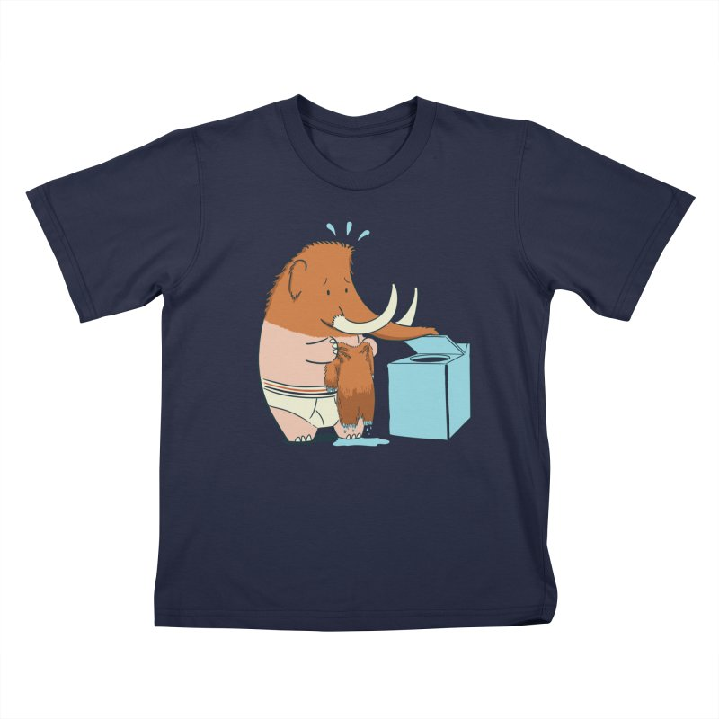 Mammoth Mistake Kids T-Shirt by Gyledesigns' Artist Shop