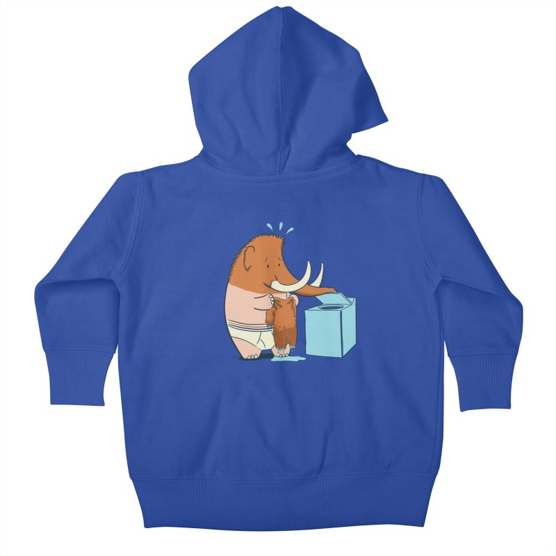 Mammoth Mistake Kids Baby Zip-Up Hoody by Gyledesigns' Artist Shop