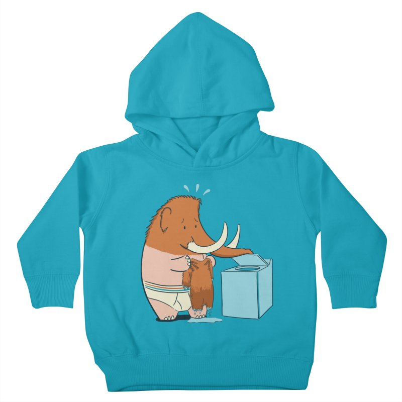 Mammoth Mistake Kids Toddler Pullover Hoody by Gyledesigns' Artist Shop