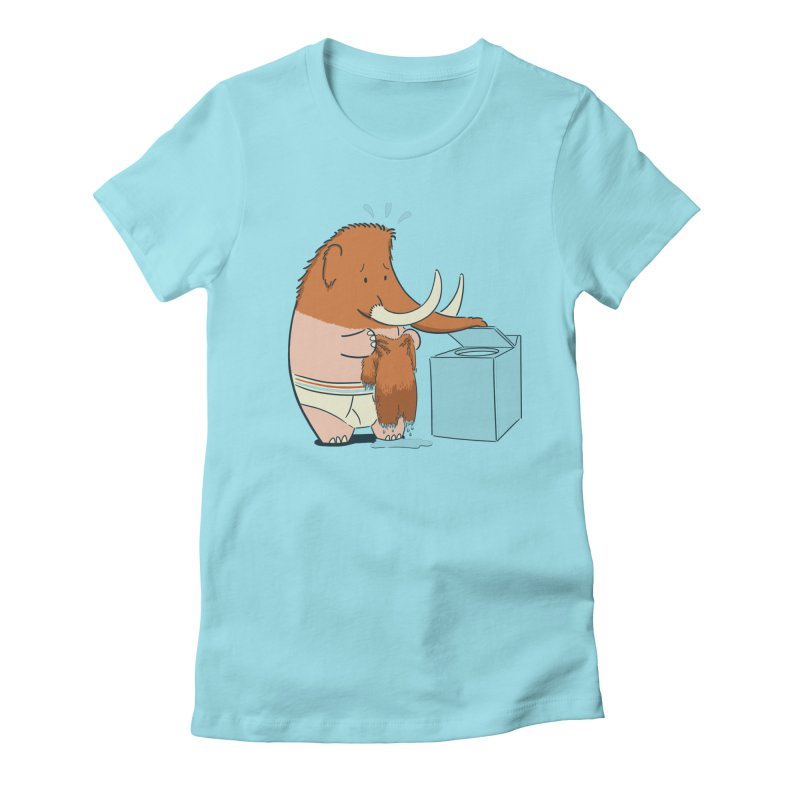Mammoth Mistake Women's Fitted T-Shirt by Gyledesigns' Artist Shop