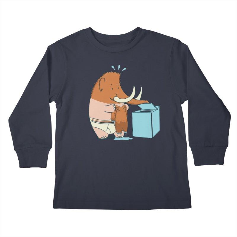 Mammoth Mistake Kids Longsleeve T-Shirt by Gyledesigns' Artist Shop