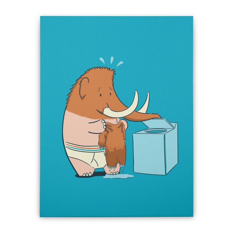Mammoth Mistake Home Stretched Canvas by Gyledesigns' Artist Shop