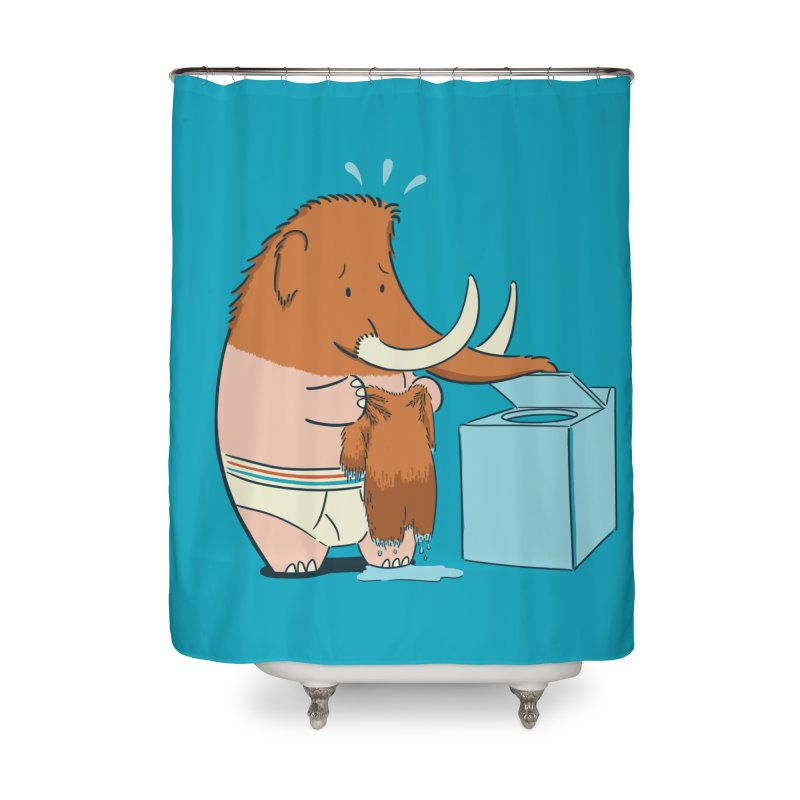 Mammoth Mistake Home Shower Curtain by Gyledesigns' Artist Shop