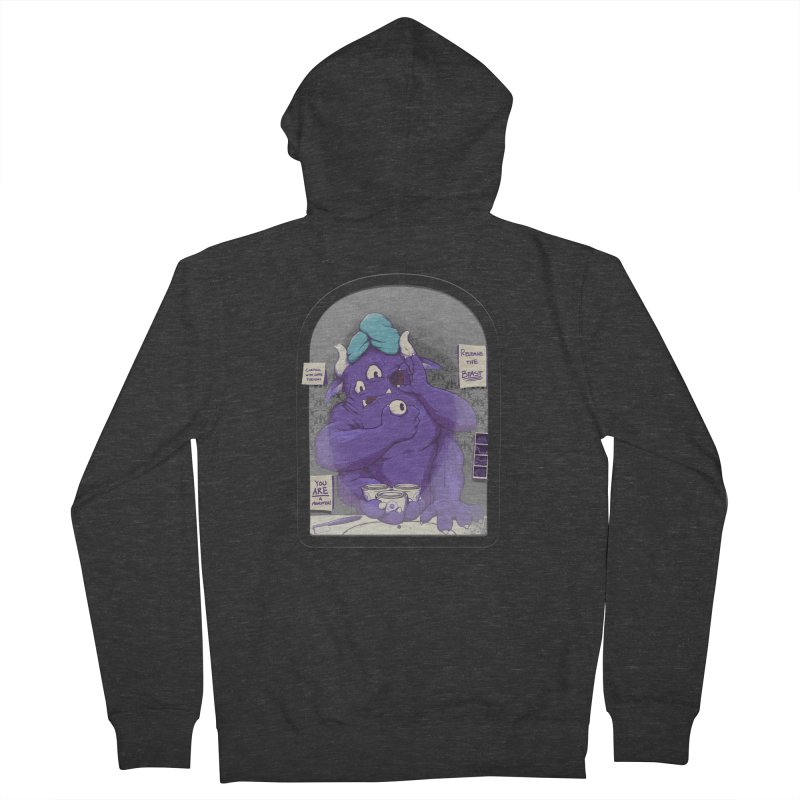 Monster in the Morning Women's Zip-Up Hoody by Gyledesigns' Artist Shop