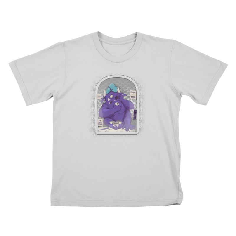 Monster in the Morning Kids T-Shirt by Gyledesigns' Artist Shop