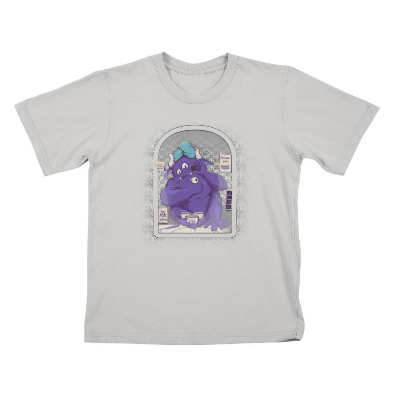 Monster in the Morning Kids T-shirt by Gyledesigns' Artist Shop