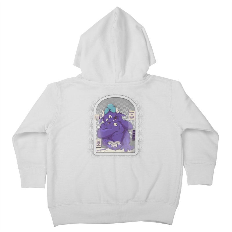 Monster in the Morning Kids Toddler Zip-Up Hoody by Gyledesigns' Artist Shop