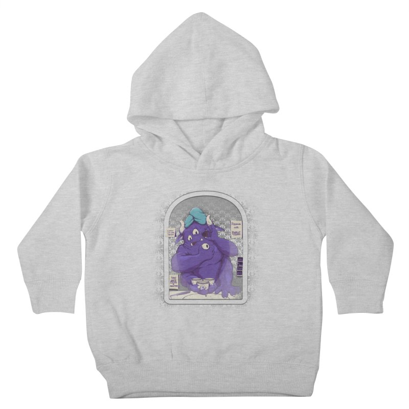 Monster in the Morning Kids Toddler Pullover Hoody by Gyledesigns' Artist Shop