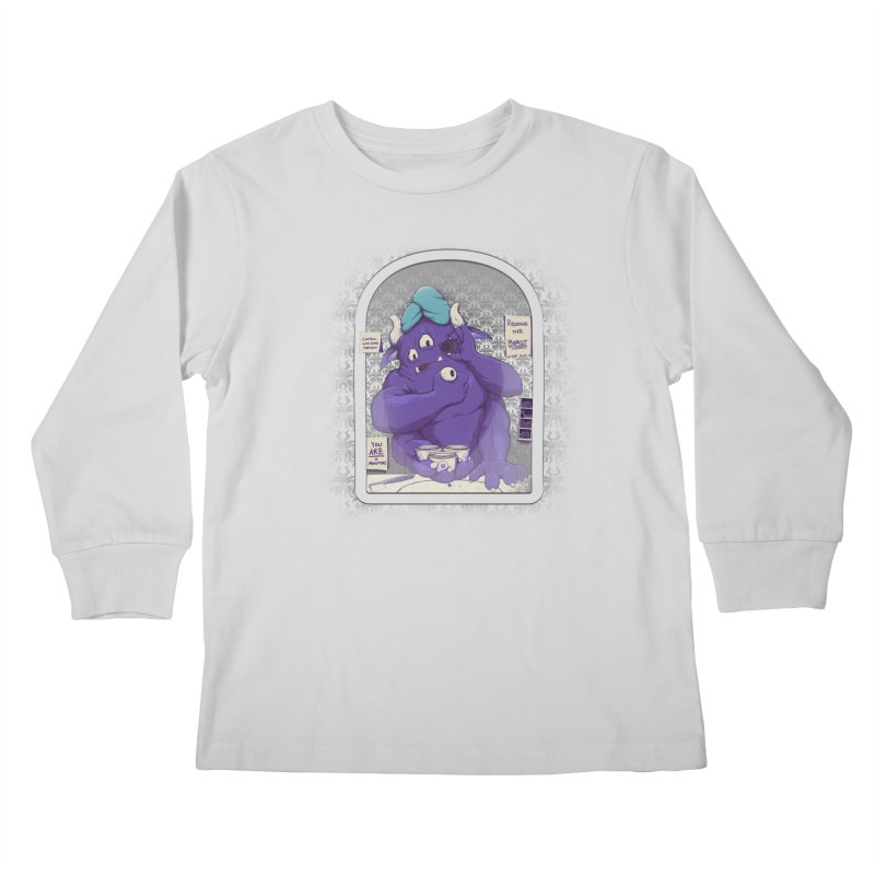 Monster in the Morning Kids Longsleeve T-Shirt by Gyledesigns' Artist Shop