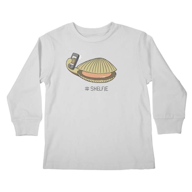 #Shelfie Kids Longsleeve T-Shirt by Gyledesigns' Artist Shop