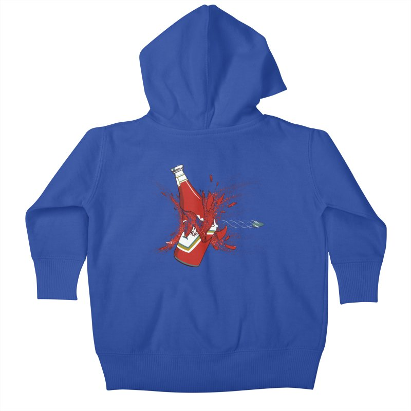 To Ketch a Bullet Kids Baby Zip-Up Hoody by Gyledesigns' Artist Shop