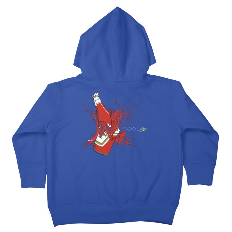 To Ketch a Bullet Kids Toddler Zip-Up Hoody by Gyledesigns' Artist Shop