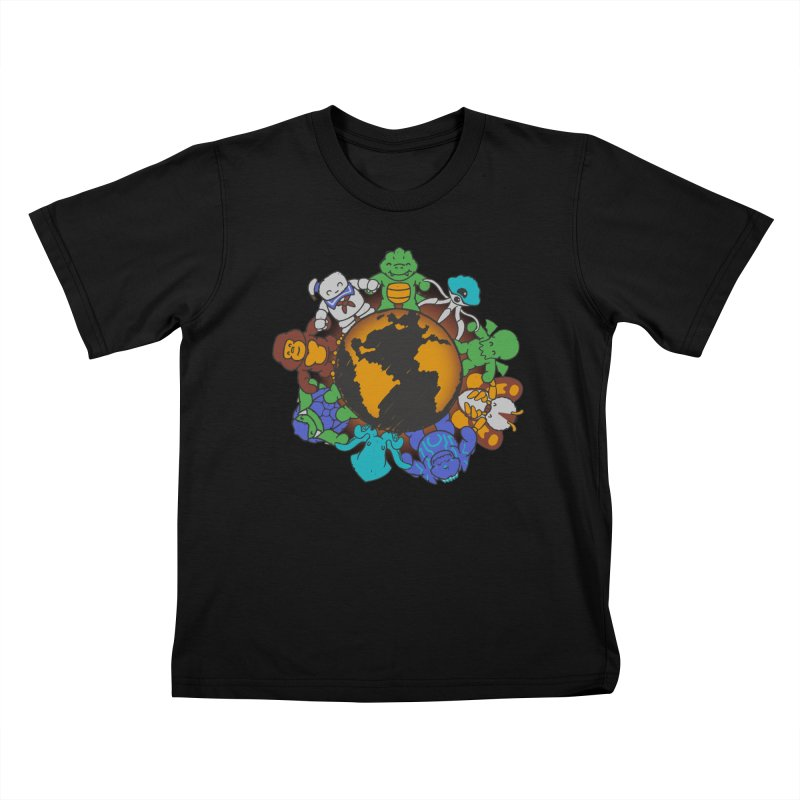 We Are (the Destroyers) of the World Kids T-shirt by Gyledesigns' Artist Shop