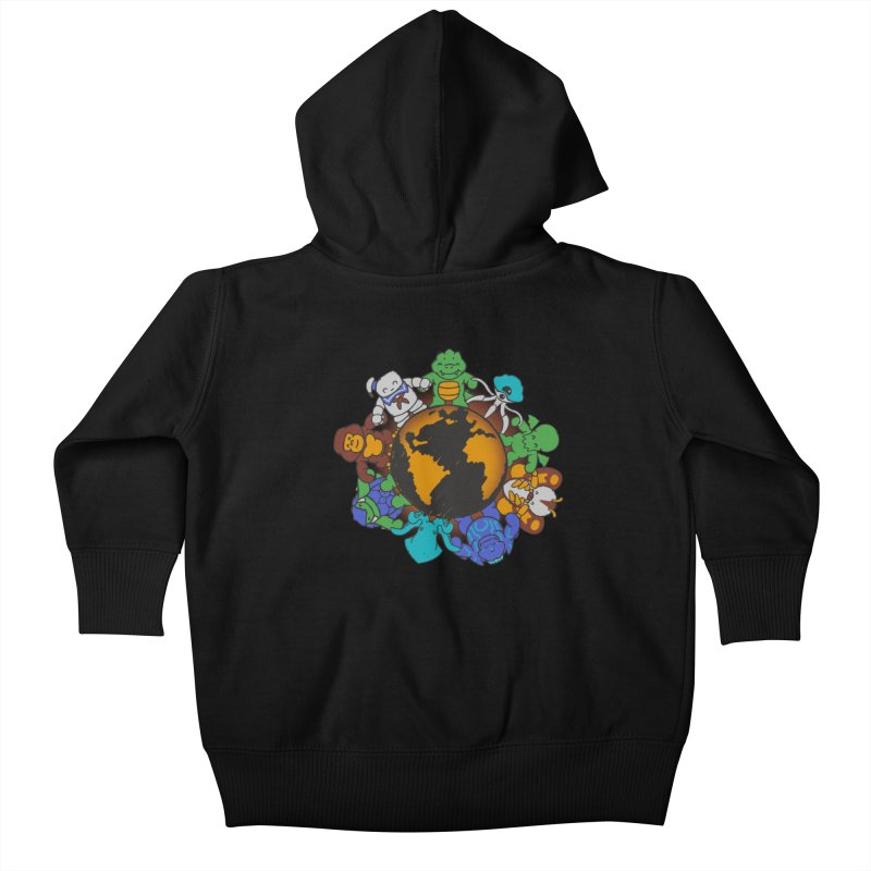 We Are (the Destroyers) of the World Kids Baby Zip-Up Hoody by Gyledesigns' Artist Shop