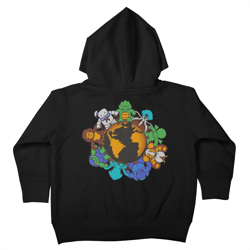 We Are (the Destroyers) of the World Kids Toddler Zip-Up Hoody by Gyledesigns' Artist Shop