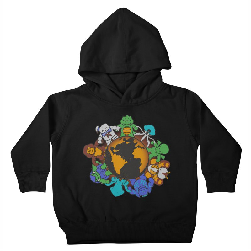 We Are (the Destroyers) of the World Kids Toddler Pullover Hoody by Gyledesigns' Artist Shop