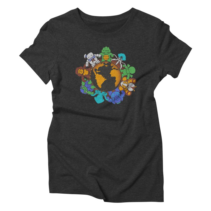 We Are (the Destroyers) of the World Women's Triblend T-shirt by Gyledesigns' Artist Shop