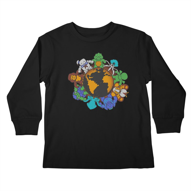 We Are (the Destroyers) of the World Kids Longsleeve T-Shirt by Gyledesigns' Artist Shop