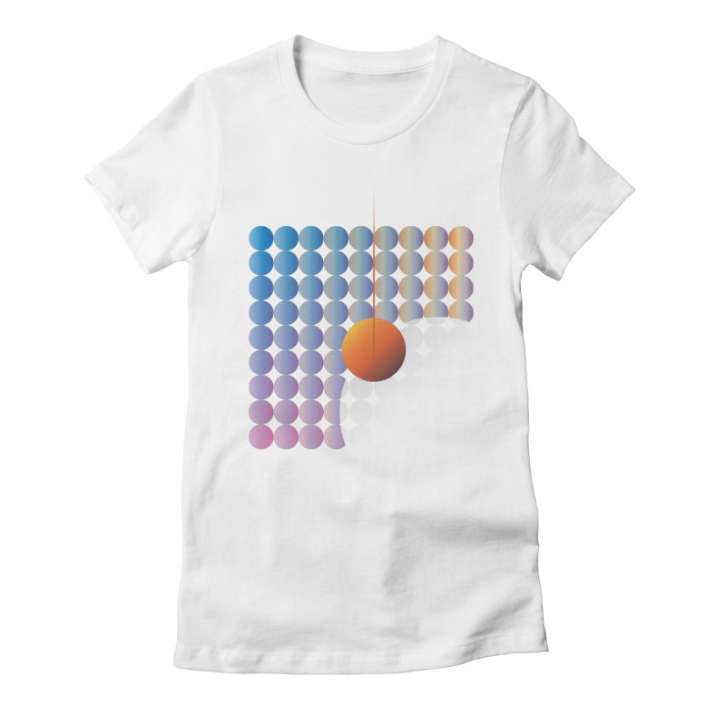 Sun Stand Still Women's Fitted T-Shirt by His Artwork's Shop