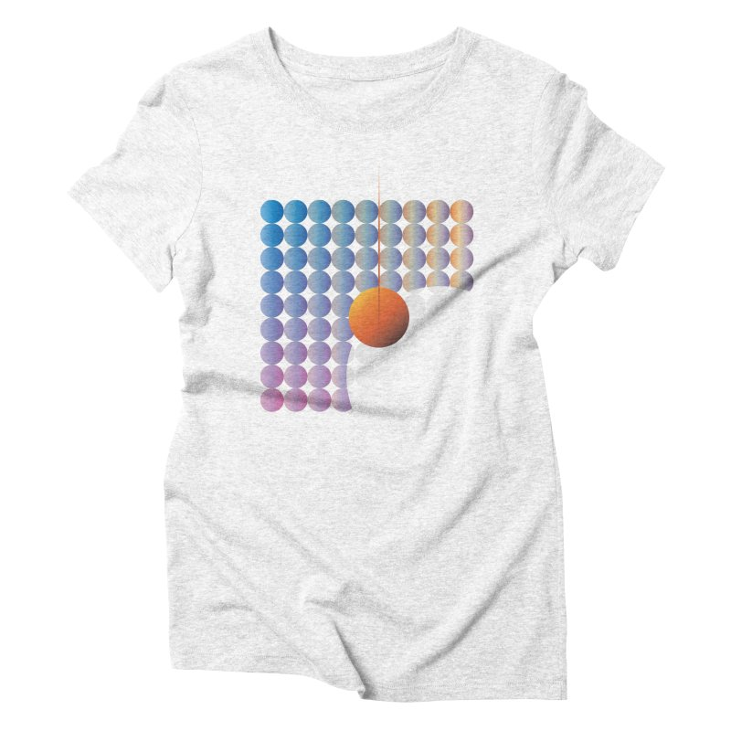 Sun Stand Still Women's Triblend T-shirt by His Artwork's Shop