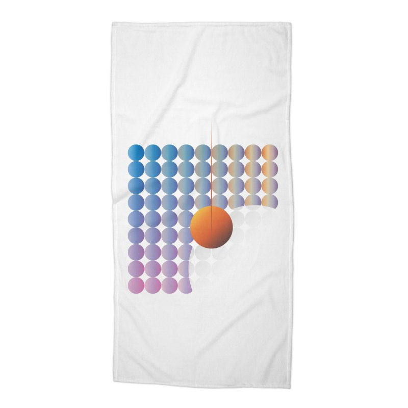 Sun Stand Still Accessories Beach Towel by His Artwork's Shop