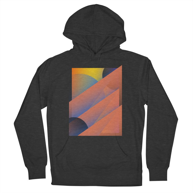 Lumen Vultus Men's French Terry Pullover Hoody by His Artwork's Shop