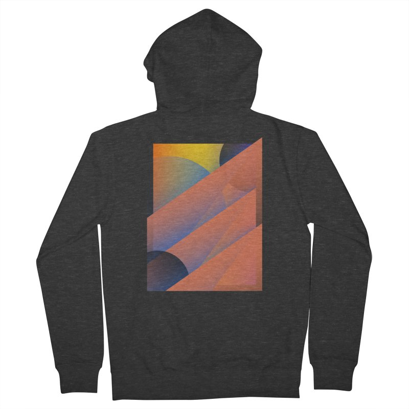 Lumen Vultus Women's French Terry Zip-Up Hoody by His Artwork's Shop