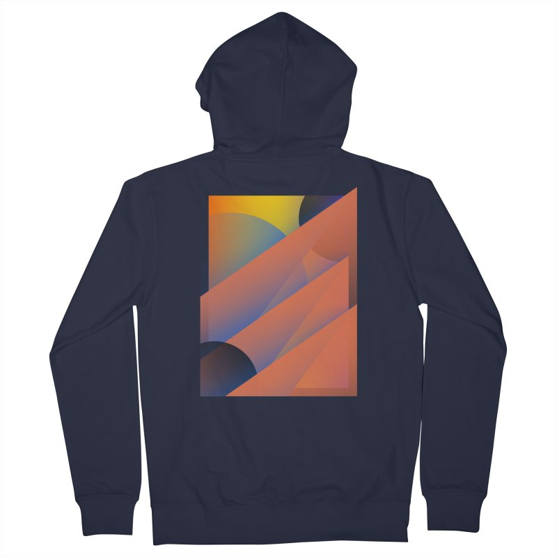 Lumen Vultus Men's French Terry Zip-Up Hoody by His Artwork's Shop